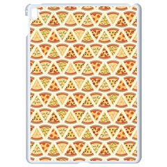 Food Pizza Bread Pasta Triangle Apple Ipad Pro 9 7   White Seamless Case by Mariart