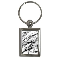 Ink Splatter Texture Key Chains (rectangle)  by Mariart