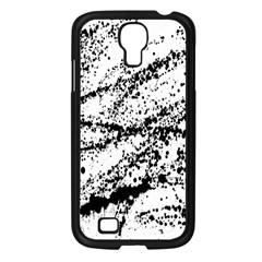 Ink Splatter Texture Samsung Galaxy S4 I9500/ I9505 Case (black) by Mariart