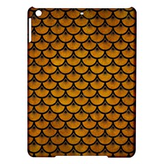 Scales3 Black Marble & Yellow Grunge Ipad Air Hardshell Cases