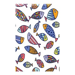Love Fish Seaworld Swim Rainbow Cartoons Shower Curtain 48  X 72  (small)  by Mariart