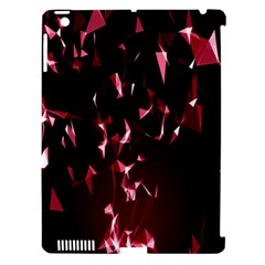 Lying Red Triangle Particles Dark Motion Apple Ipad 3/4 Hardshell Case (compatible With Smart Cover) by Mariart