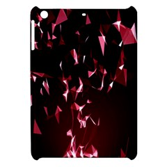 Lying Red Triangle Particles Dark Motion Apple Ipad Mini Hardshell Case by Mariart