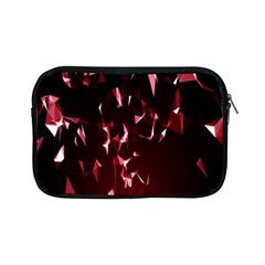 Lying Red Triangle Particles Dark Motion Apple Ipad Mini Zipper Cases by Mariart