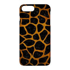 Skin1 Black Marble & Yellow Grunge Apple Iphone 7 Plus Hardshell Case by trendistuff