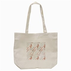 Musical Scales Note Tote Bag (cream) by Mariart