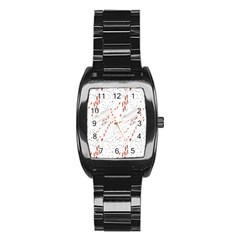 Musical Scales Note Stainless Steel Barrel Watch by Mariart
