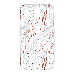 Musical Scales Note Samsung Galaxy S4 I9500/i9505 Hardshell Case by Mariart