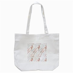 Musical Scales Note Tote Bag (white) by Mariart