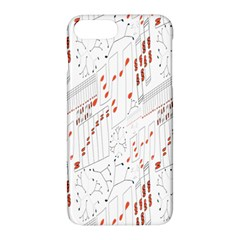 Musical Scales Note Apple Iphone 7 Plus Hardshell Case by Mariart