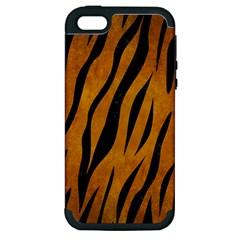 Skin3 Black Marble & Yellow Grunge Apple Iphone 5 Hardshell Case (pc+silicone) by trendistuff