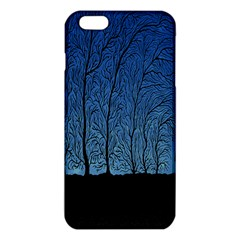 Forest Tree Night Blue Black Man Iphone 6 Plus/6s Plus Tpu Case by Mariart