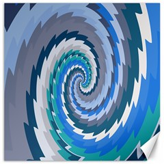 Psycho Hole Chevron Wave Seamless Canvas 16  X 16   by Mariart