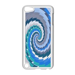 Psycho Hole Chevron Wave Seamless Apple Ipod Touch 5 Case (white) by Mariart