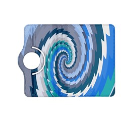 Psycho Hole Chevron Wave Seamless Kindle Fire Hd (2013) Flip 360 Case by Mariart