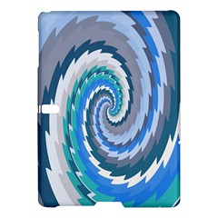 Psycho Hole Chevron Wave Seamless Samsung Galaxy Tab S (10 5 ) Hardshell Case  by Mariart