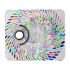 Prismatic Abstract Rainbow Galaxy S3 (flip/folio) by Mariart