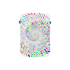 Prismatic Abstract Rainbow Apple Ipad Mini Protective Soft Cases by Mariart