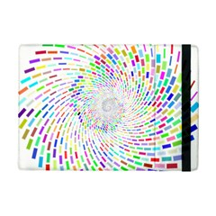 Prismatic Abstract Rainbow Ipad Mini 2 Flip Cases by Mariart