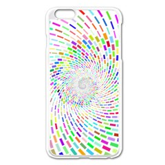 Prismatic Abstract Rainbow Apple Iphone 6 Plus/6s Plus Enamel White Case by Mariart