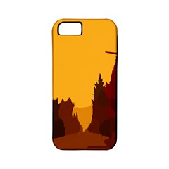 Road Trees Stop Light Richmond Ace Apple Iphone 5 Classic Hardshell Case (pc+silicone) by Mariart