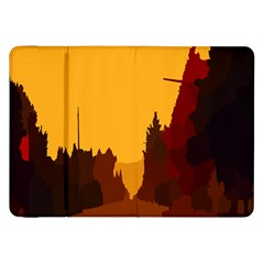 Road Trees Stop Light Richmond Ace Samsung Galaxy Tab 8 9  P7300 Flip Case by Mariart