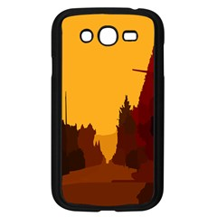 Road Trees Stop Light Richmond Ace Samsung Galaxy Grand Duos I9082 Case (black) by Mariart