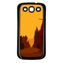 Road Trees Stop Light Richmond Ace Samsung Galaxy S3 Back Case (black) by Mariart