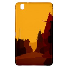 Road Trees Stop Light Richmond Ace Samsung Galaxy Tab Pro 8 4 Hardshell Case by Mariart
