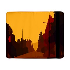 Road Trees Stop Light Richmond Ace Samsung Galaxy Tab Pro 8 4  Flip Case by Mariart