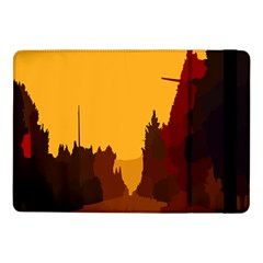 Road Trees Stop Light Richmond Ace Samsung Galaxy Tab Pro 10 1  Flip Case by Mariart