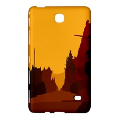 Road Trees Stop Light Richmond Ace Samsung Galaxy Tab 4 (8 ) Hardshell Case  by Mariart