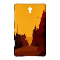 Road Trees Stop Light Richmond Ace Samsung Galaxy Tab S (8 4 ) Hardshell Case  by Mariart