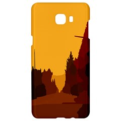 Road Trees Stop Light Richmond Ace Samsung C9 Pro Hardshell Case  by Mariart