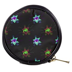 Random Doodle Pattern Star Mini Makeup Bags by Mariart