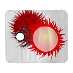 Rambutan Fruit Red Sweet Galaxy S3 (flip/folio) by Mariart