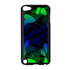 Spectrum Sputnik Space Blue Green Apple Ipod Touch 5 Case (black) by Mariart