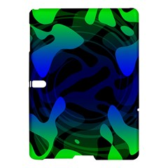 Spectrum Sputnik Space Blue Green Samsung Galaxy Tab S (10 5 ) Hardshell Case  by Mariart