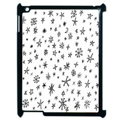 Star Doodle Apple Ipad 2 Case (black) by Mariart