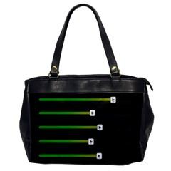 Stock Illustration Rendering Seven Volume Office Handbags by Mariart