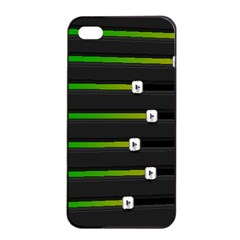 Stock Illustration Rendering Seven Volume Apple Iphone 4/4s Seamless Case (black) by Mariart