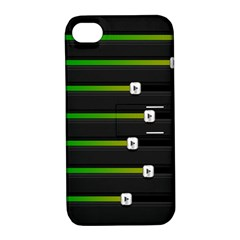 Stock Illustration Rendering Seven Volume Apple Iphone 4/4s Hardshell Case With Stand by Mariart