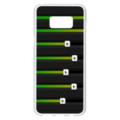 Stock Illustration Rendering Seven Volume Samsung Galaxy S8 Plus White Seamless Case by Mariart