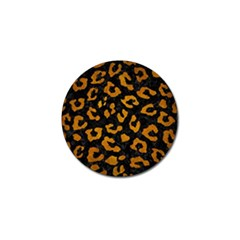 Skin5 Black Marble & Yellow Grunge Golf Ball Marker (4 Pack) by trendistuff