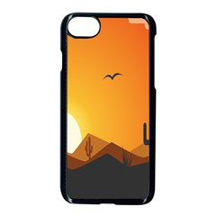 Sunset Natural Sky Apple Iphone 8 Seamless Case (black) by Mariart