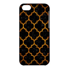 Tile1 Black Marble & Yellow Grunge (r) Apple Iphone 5c Hardshell Case by trendistuff