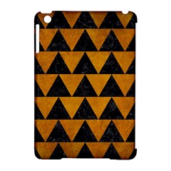 Triangle2 Black Marble & Yellow Grunge Apple Ipad Mini Hardshell Case (compatible With Smart Cover) by trendistuff