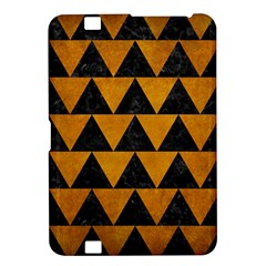 Triangle2 Black Marble & Yellow Grunge Kindle Fire Hd 8 9  by trendistuff