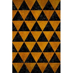 Triangle3 Black Marble & Yellow Grunge 5 5  X 8 5  Notebooks by trendistuff