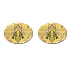 Art Nouveau Cufflinks (oval) by 8fugoso